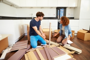Building furniture while building your relationship